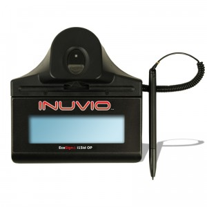 INUVIO EcoSign i15idOP Signature Pad Capture Scanner Harware Product Image