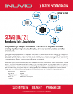 View / Download INUVIO ScanGlobal Data Sheet